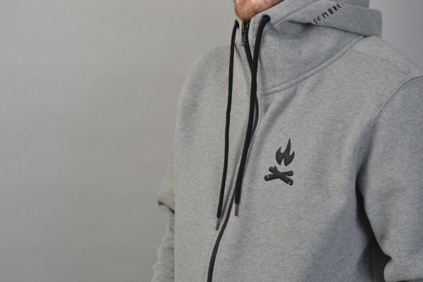 Fire Icon Ziphood Darkheather Grey/Black