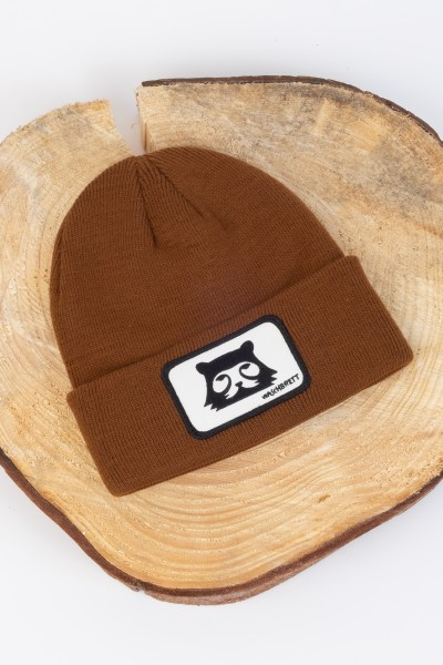 Bergbär Beanie Brown/Black