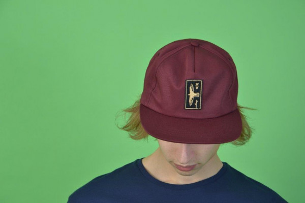 Falcon Snapback Cap Unstructured Maroon/Gold