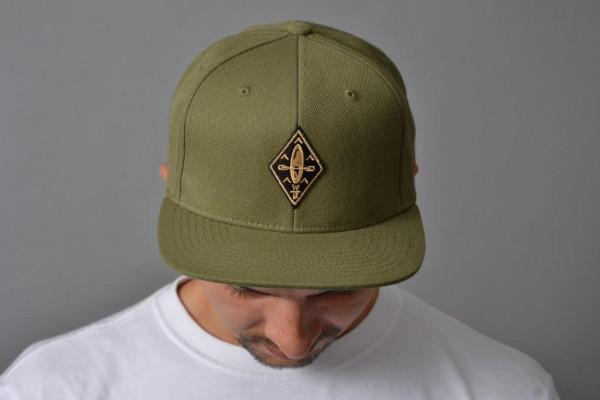 Kajak Snapback Cap Olive/Nature