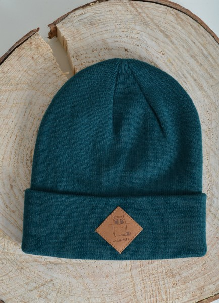 Logo Diamond Beanie Green