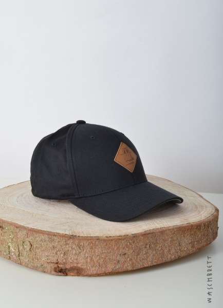 Logo Diamond Flexfit Cap Black
