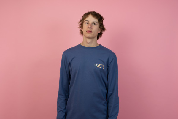 Trails Longsleeve Purple/Coral-Clay